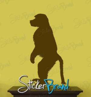 Vinyl Wall Decal Sticker Monkey Standing