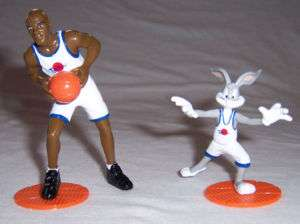 MICHAEL JORDAN & BUGS BUNNY ~ SPACE JAM FIGURINE SET
