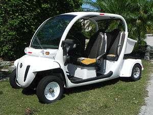 2007 Gem Electric Chrysler E4 NEV LSV Street Legal Golf Cart Car 1799