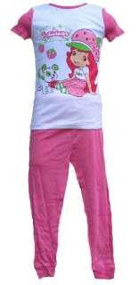 STRAWBERRY SHORTCAKE short sleeve shirt pants girls toddler pajamas