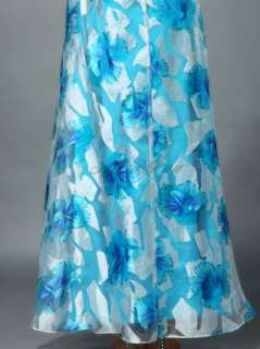 New Sexy Printed Strapless Formal Dresses 09354 Size S