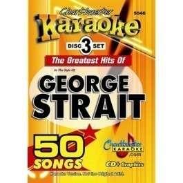 CHARTBUSTER Karaoke 5046   GEORGE STRAIT 3 Disc Set v1