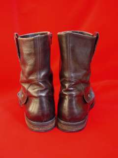 authentic BUTTERO ITALY dark brown leather ankle BOOTS 43 10.5