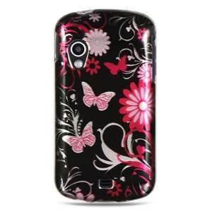 pink butterflies design for the Samsung Stratosphere
