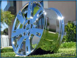 19 INCH CHROME WHEELS RIMS FITS LAND ROVER LR4 LR3