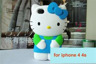 2012 lastest 3D for Hello Kitty Figure cute Character Hard Case for