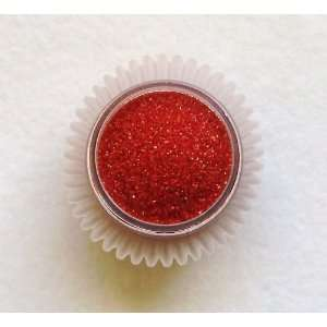 NEW Deep Red Sanding Sugar  4 oz