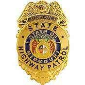 MISSOURI STATE HIGHWAY PATROL OFFICER POLICE BADGE PIN