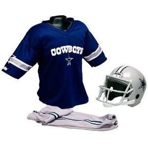 NFL Dallas Cowboys Kids Team Uniform Set, Small (Ages 4 to
