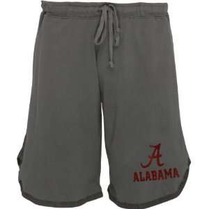 Alabama Crimson Tide Charcoal Jersey Gym Shorts
