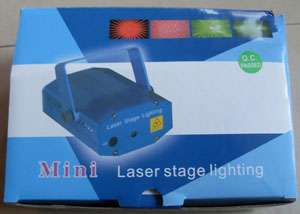 Mini Green &Red DJ Laser Stage Lighting Light Disco Party Club Galaxy