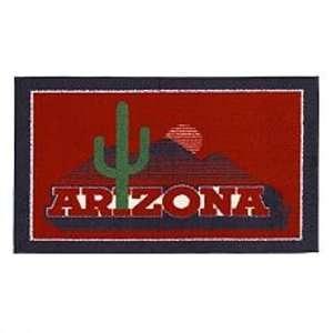 Arizona Wildcats State NCAA Rug 26x45