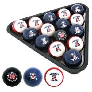 Arizona Wildcats Officially Licensed NCAA Billiard Balls