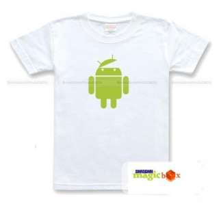 Android Logo Google Phone Geek T Shirt OPEN YOUR MIND