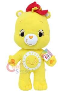 Care Bears Funshine Bear Plush Doll Cuddle Pillow Cushion with Hat 28