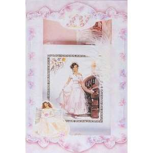 Quinceanera Guest Book Sets   White Color Pearl Hard Cover