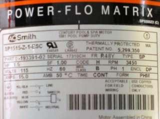New Hayward Power Flo Matrix 1.5HP Swimming Pool Pump