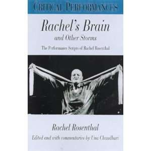 Performances) (9780826448965) Rachel Rosenthal, Una Chaudhuri Books