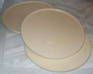 Lazy Susan Turntable For Cake Decorating : Rubbermaid Lazy Susan Turntable Organizer 2 Tier Spice Rack GUC Beige Tan