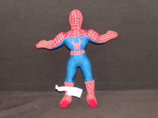 PLUSH SPIDERMAN 2 SUPER HERO DOLL ACTION FIGURE CARTOON COMIC STUFFED