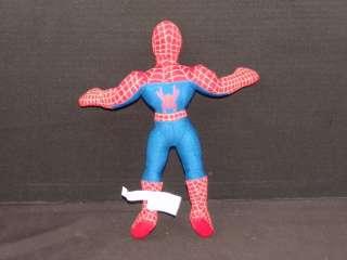 PLUSH SPIDERMAN 2 SUPER HERO DOLL ACTION FIGURE CARTOON COMIC STUFFED