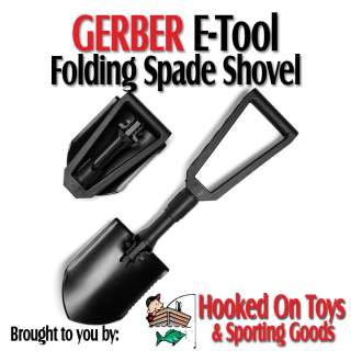 Gerber E Tool Folding Spade Shovel w/ Serrated Blade