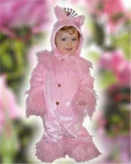 PINK Kitty Cat Princess Dress up Costume 2T 2 years