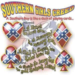 Dixie Rebel SOUTHERN GIRLS CREED