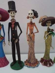 CATRINAS mexican folk art day of the dead catrina