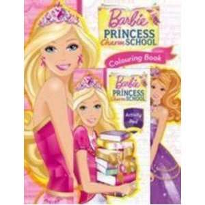 Barbie Princess Charm School Activity Pack Mattel Books