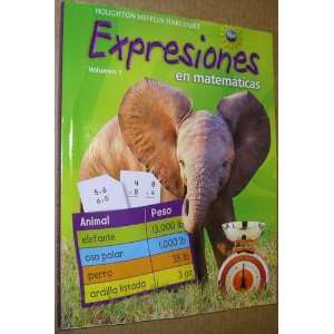 Expression Spanish (Math Expressions 2009   2012) (Spanish Edition