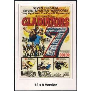 Gladiators Seven Threatical Widescreen Richard Harrison