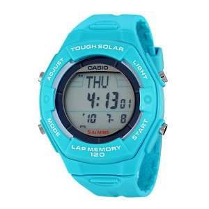 Casio Womens Solar Runners Watch LWS200H 2ACF AquaBlue