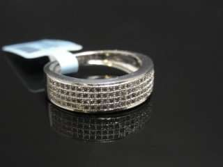 NEW!! LADIES DIAMOND PAVE ENGAGEMENT/WEDDING BAND RING