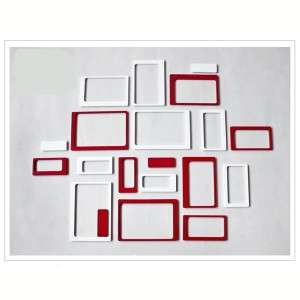 Wall Glass Sticker Art Decal Home Room Decoration Photo Frames
