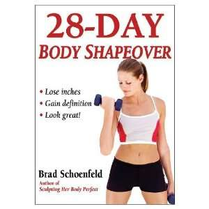 28 Day Body Shapeover (Paperback Book)