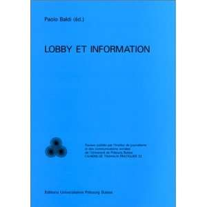 Lobby et information (Social communication) (French