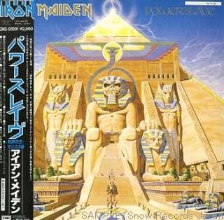 8047  IRON MAIDEN powerslave JAPAN Vinyl