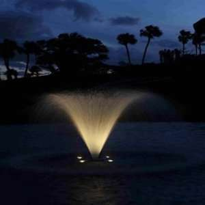 Aqua Control LED Fountain Light kit, 110V, 4 Lights