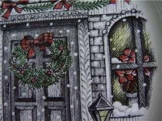 Royal Stafford Christmas Home Dinner Plates (4) NEW