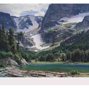 Mountain Lake   Clyde Aspevig 31x27 CLEARANCE: Home
