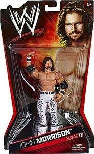 JOHN MORRISON WWE MATTEL BASIC SERIES 12 ACTION FIGURE TOY