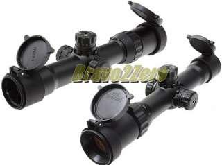 Leapers UTG 1 4x28 Dual Illuminated Long Eye Relief 30mm Tube CQB