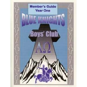 Blue Knights Boys Club Member Guide   Year 1 Books