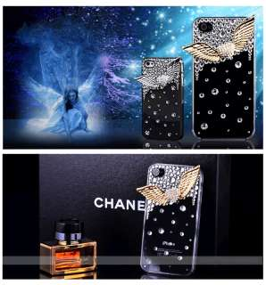 3D Alloy Leopard &Bow &Camellia Bling Rhinestone DIY Mobile Phone