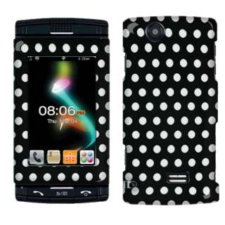 Dots Accessory Hard Case Cover For AT&T Sharp FX Cell Phone