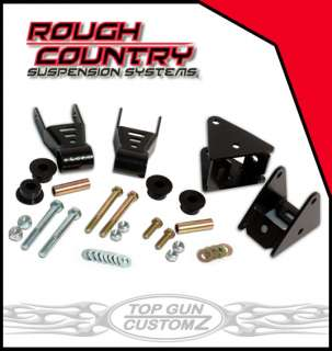 87 96 Jeep Wrangler YJ Shackle Reversal Kit
