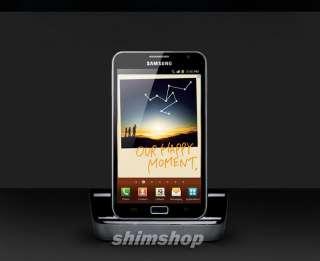 SAMSUNG GALAXY Note LTE SGH I717 GT N7000 I9220 AT&T Desktop Dock