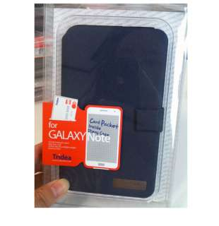 NEW][Tridea] SAMSUNG Galaxy Note/N7000/i717 AT&T leather FLIP Case
