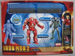 Marvel Iron Man 2 Concept Series Three Pack Proving Ground   (New In